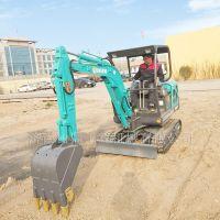 出售二手 国产进口小型挖掘机 山鼎小型挖掘机厂家