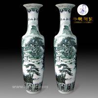 别墅院子门口大花瓶摆件_陶瓷大花瓶礼品大花瓶批发厂家