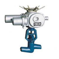高温高压电动截止阀 J61Y焊接式电动截止阀 手动电站截止阀