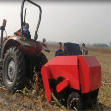 玉米秸秆饲料打包机 饲草牧草打捆机 粉碎打捆一体机