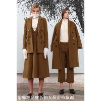 紫馨源新上货新款秋冬来袭设计师风格高端品牌尾货女装靓货
