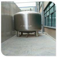广西南宁304/316不锈钢无菌纯水箱 1吨2吨 圆形立式卧式清又清生产