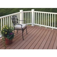 优质生态木塑木PE户外地板62*10实心小地板园林花园围栏封边板