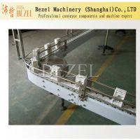 Bezel订做龙骨链输送机 倍数链输送机 板链输送线 上海机械生产