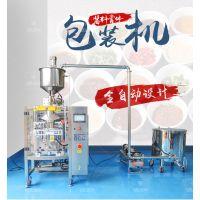 全自动酱料包装机 420型包装机 蜂蜜辣椒油番茄酱包装机厂家直销