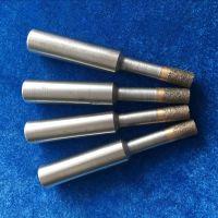 科美磨具 定做异形烧结金刚石/CBN开孔器 陶瓷玻璃石材钻孔砂轮磨头