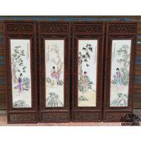 纯手工绘制家居瓷板画高雅精美生动题材瓷板画
