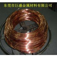 供应太阳能电加热管铜头用T2红铜线