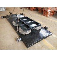 专业定做3吨压路机转场拖板车,可根据尺寸定做