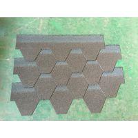 合肥厂家供应马赛克彩色单层玻纤胎沥青瓦