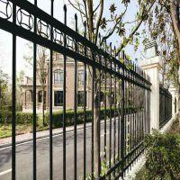 围墙专用锌钢护栏_阳江锌钢护栏_可按尺寸规格定制