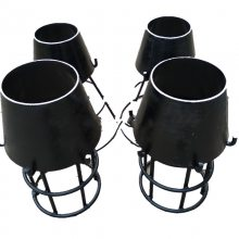 龙图供应吸水喇叭口支架DN200*8 标准ZA1溢流喇叭口支架生产厂家