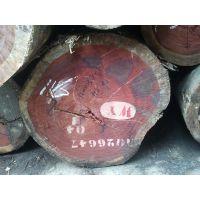 张家港现货供应进口非洲刚果加蓬红花梨原木
