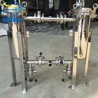 奕卿供应袋式过滤器 不锈钢 混合过滤系统 可串连 并联