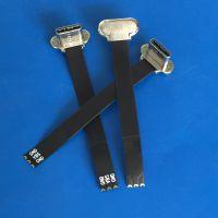 TYPE C无线充公头 T型五金头 三星S8专用无线背夹充电插头+47mm软排线可定制