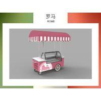 冰友牌厂家直销冰淇淋移动车雪糕售卖车冰棒冷柜