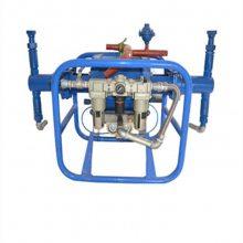 中拓气动注浆泵双液矿井注浆根据需要调节流量压力注浆机械