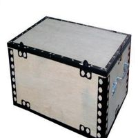 精密仪器外包装钢带木箱 钢边箱 可拆卸胶合板木箱 厂家直销