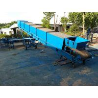 经久耐用的大型输送机 平利聚氨酯输送带 兴亚碳钢主架板链输送机