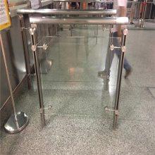 新云 供应地铁玻璃栏杆 地铁不锈钢栏杆厚度要求
