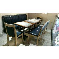 粤港式茶餐厅酒店中西餐厅料理店咖啡店自助餐实木桌椅定制