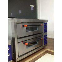 航远烤掉渣饼的机器|烤武大郎烧饼机器|双层四盘蛋糕烤箱