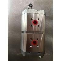 ABG423发动机双联泵 摊铺机液压泵双联齿轮泵 ABG摊铺机配件