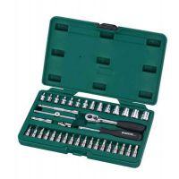 世达工具38件6.3mm系列套筒组套9002