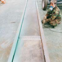 蔬菜挡板皮带输送机 食品带式输送 工艺流程 专业生产中天