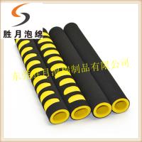 广州胜月 专业生产光面橡塑 软包海绵管 NBR防滑手把套 登山棒橡塑把套