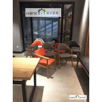 韩尔品牌工厂 重庆CZ01轻食餐厅咖啡厅桌椅定制 简约餐厅家具