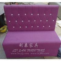 南山餐饮卡座沙发定制 沙发卡座 甜品店沙发 餐厅卡座厂家直销