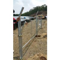 出口光伏发电围墙护栏网 热镀锌框架护栏网 南京框架围栏网安装