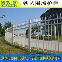 惠州热镀锌围墙护栏 厂区隔离围墙护栏 惠阳小区绿化塑钢栅栏 腾众围栏