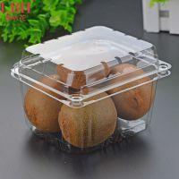 喇叭花1088一次性水果盒 樱桃车厘子包装盒 透明塑料保鲜盒100个