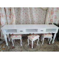 定制创意板式美甲桌 多尺寸简易欧式风格烤漆美甲桌