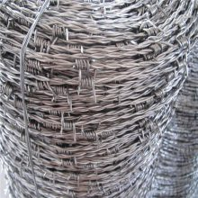太原刺绳 刺绳护栏网 镀锌刺铁丝