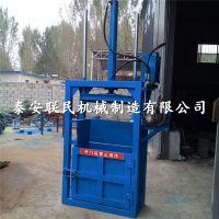 泰安联民供应 废旧金属液压打包机 钢板废料双缸压块机厂家