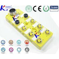 M12电磁阀无源传感器,单信号CAN总线插座式分线器