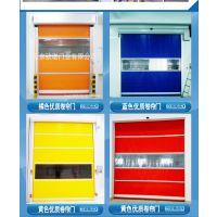 聊城生产厂家 现货供应pvc软帘门 不锈钢工业遥控抗风电动卷帘门