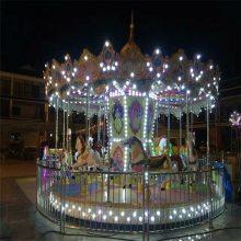 热卖广场游乐儿童娱乐设备升降小飞机秋千飞鱼电动旋转木马飞车