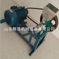 振德牌 柴电两用玉米膨化机 双螺杆挤压膨化机 可出七种花型
