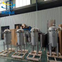 上海垂直快开多袋式过滤器 奕卿科技液体不锈钢袋式过滤器
