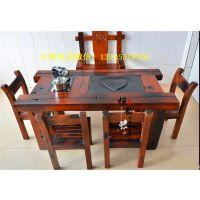 老船木家具茶台,家用常规小茶台,阳台专用茶台,也可用于户外