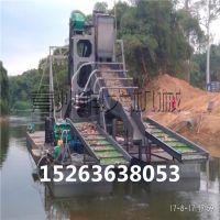 挖沙选金设备、链斗式采金船、河沙选金机械厂家