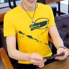 便宜男士短袖 几元男装上衣 韩版修身大气男士T恤 厂家一手货源批发