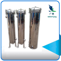机油回收拦截杂质用广旗袋式过滤器 清又清厂家直销