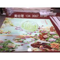 琉璃瓷砖制作工艺/精工uv2030彩雕背景墙打印机
