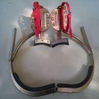 供应金淼牌 400#锰合金无缝钢管登杆脚扣价格