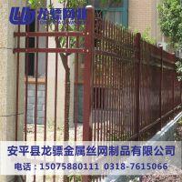 学校草坪塑钢围栏 草坪塑钢围栏 大学绿化带栏杆